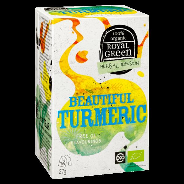 Royal Green Bio Beautiful Turmeric Gewürztee