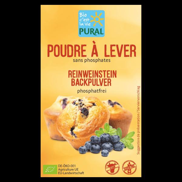 Pural Bio Reinweinstein Backpulver 3x21g