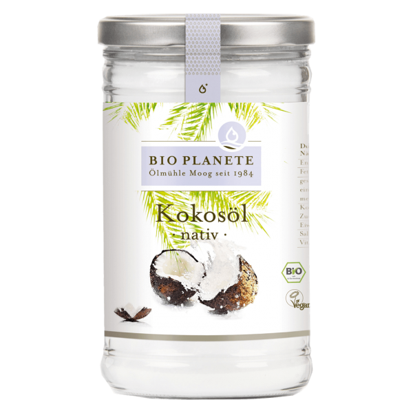 Bio Planète – Ölmühle Moog GmbH Bio Kokosöl nativ, 950 ml