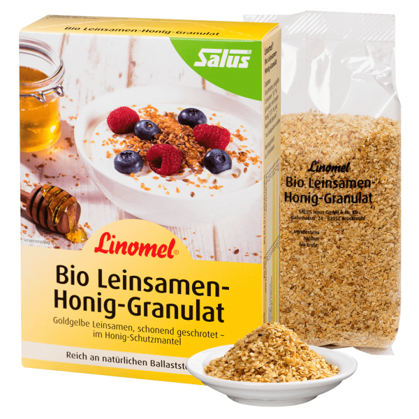 Salus Bio Leinsamen-Honig-Granulat Linomel
