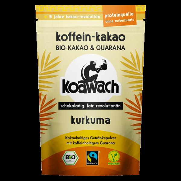 koawach Bio Trinkschokolade Kurkuma