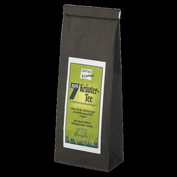 Gesund & Leben Bio 7 Kräuter Tee, 75g