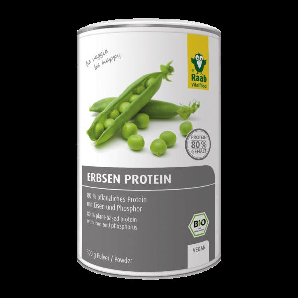 Bio Erbsen Protein Pulver, 300g
