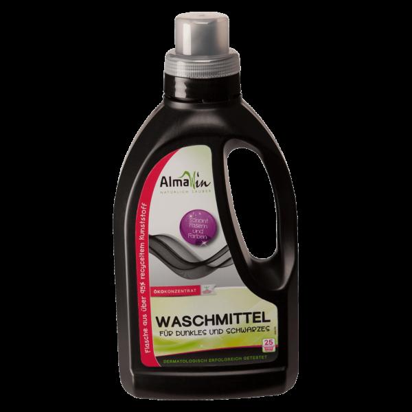 AlmaWin Waschmittel für Dunkles und Schwarzes, 0,75l