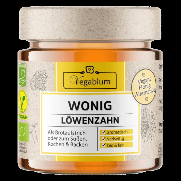 Löwenzahn  Wonig, veganer Honig