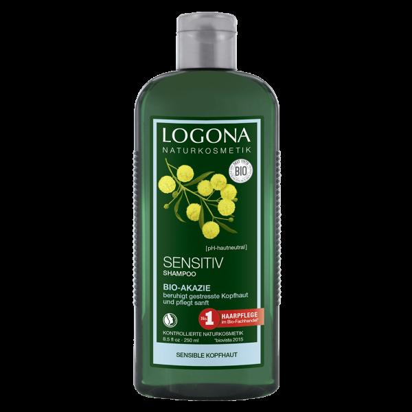 Logona Sensitiv Shampoo Akazie, 250ml