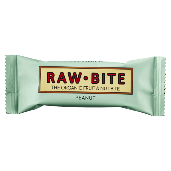RAW BITE Bio Peanut Riegel