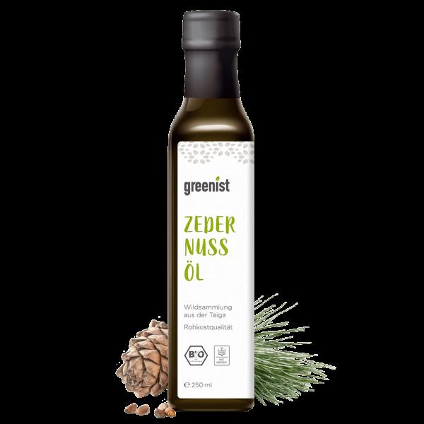 greenist Bio Zedernussöl aus Sibirien
