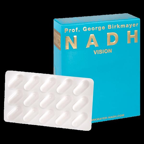 Prof. George Birkmayer NADH Vision
