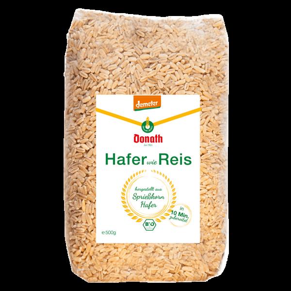 Donath Mühle Bio Hafer wie Reis