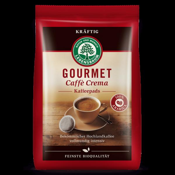 Lebensbaum Bio Caffè Crema kräftig 18 Pads