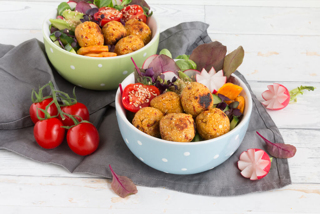 Veggie-Falafel-Bowl