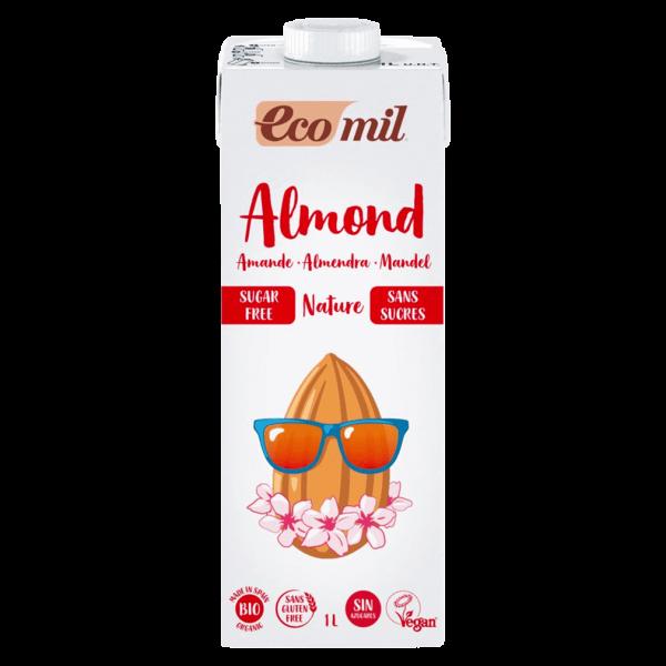 EcoMil Bio Mandel Drink Nature zuckerfrei