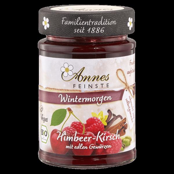 Annes Feinste Bio Fruchtaufstrich Himbeer-Kirsch
