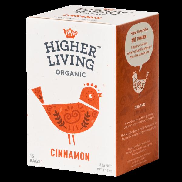 Higher Living Bio Zimt, 15Btl