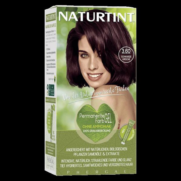 Naturtint Haarfarbe 3.60 Schwarze Kirsche