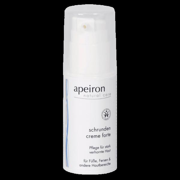 Apeiron Schrunden Creme forte für stark verhornte Hautbereiche 30ml