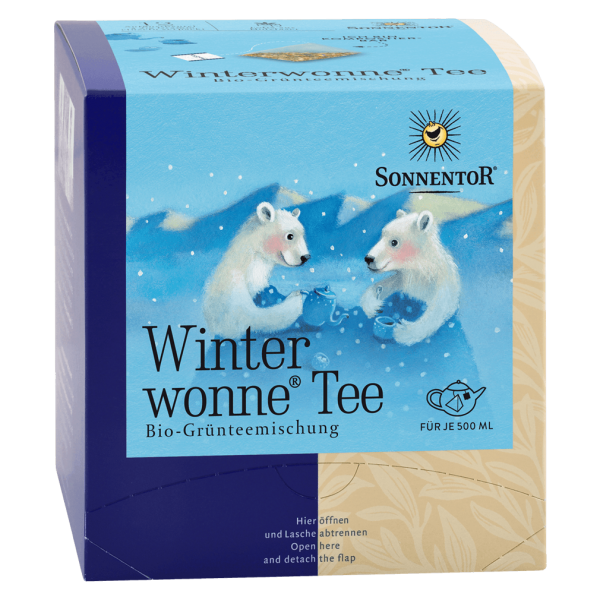 Bio Winterwonne GrünTee
