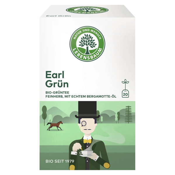 Lebensbaum Bio Earl Grün Tee, 30g