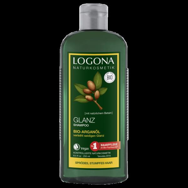 Logona Glanz Shampoo Arganöl, 250ml