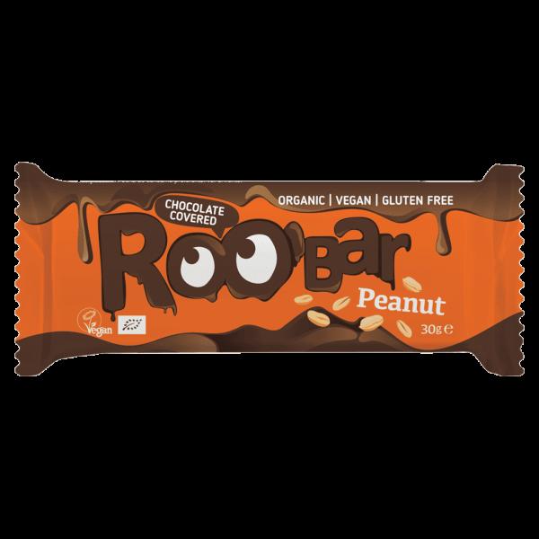 Roobar Bio Erdnuss Schokoriegel