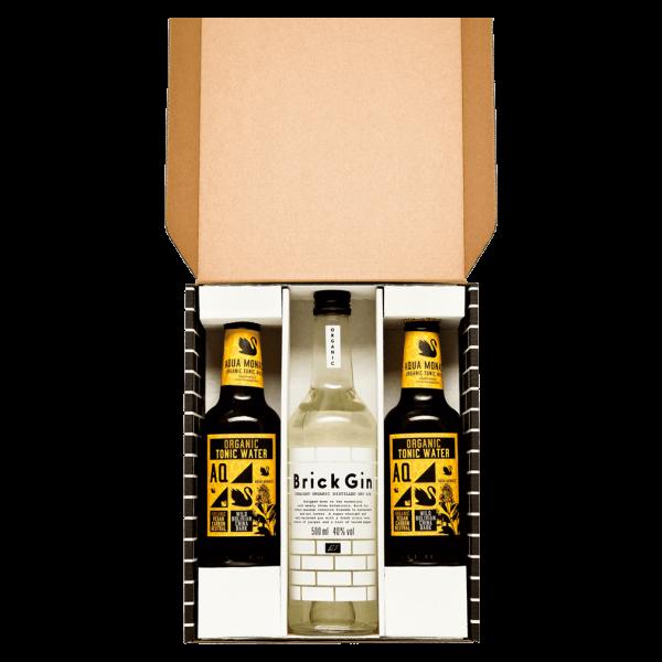 Brick Gin Bio Gin & Tonic Geschenkset