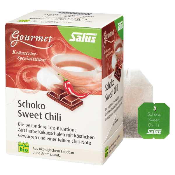 Salus Bio Schoko Sweet Chilli Tee