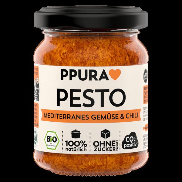 PPura Bio Pesto Mediterranes Gemüse & Chili