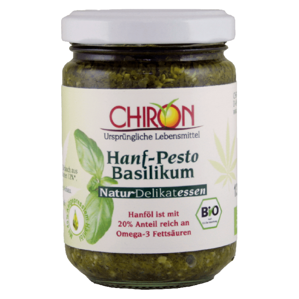 Chiron Bio Hanf Pesto Basilikum