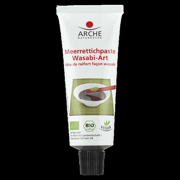 Arche Naturküche Bio Meerrettichpaste Wasabi-Art