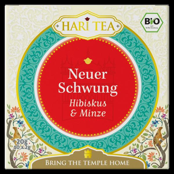 Hari Tea Bio Hibiskus & Minze Neuer Schwung