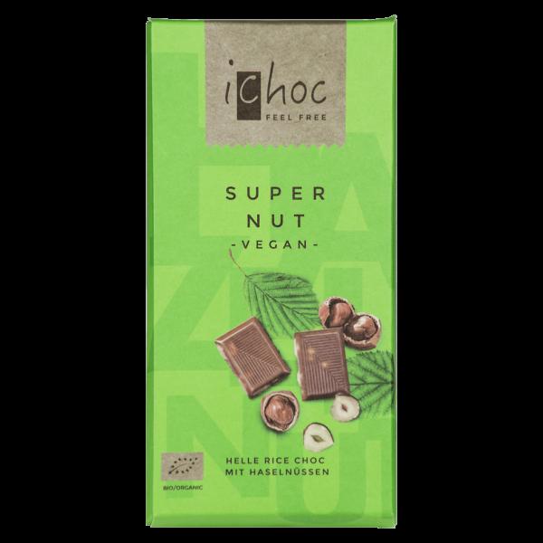 iChoc Bio Super Nut Schokolade