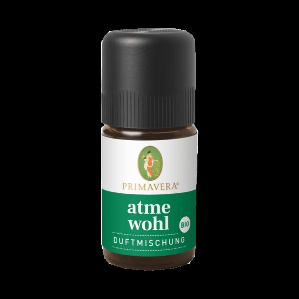 Bio Atmewohl Duftmischung, 5ml