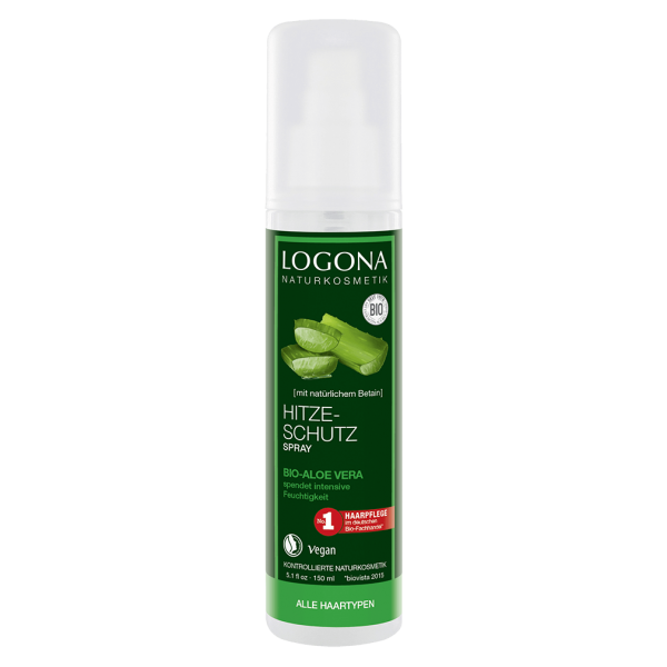 Logona Bio Hitzeschutz Spray Aloe Vera