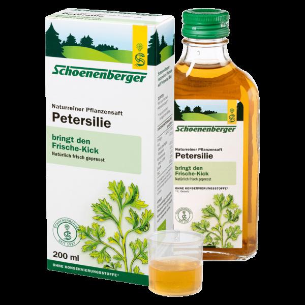 Schoenenberger Bio Petersilie Pflanzensaft