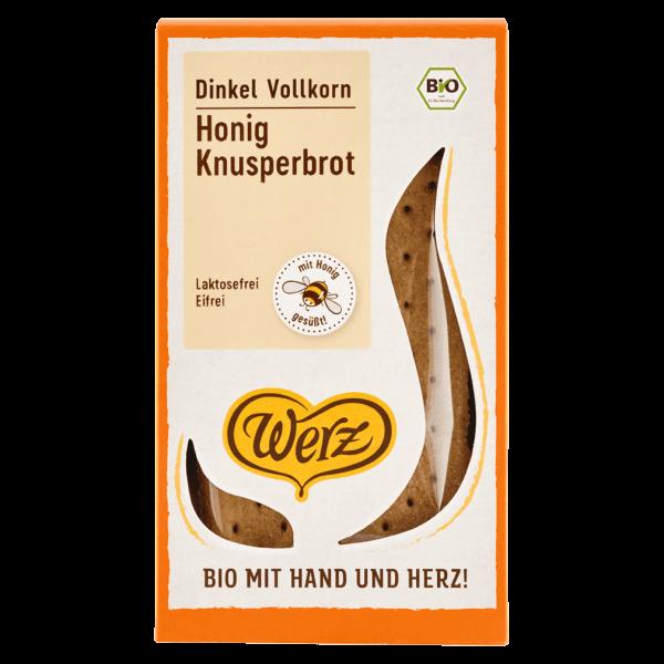 Werz Bio Honig Knusperbrot Dinkel Vollkorn