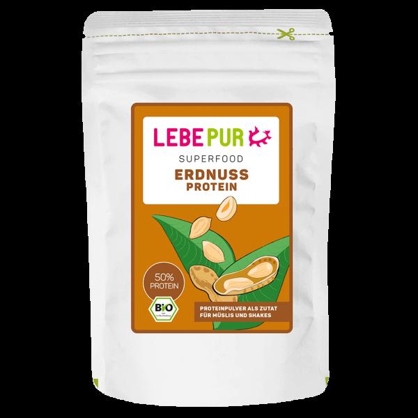 Lebepur  Bio Erdnussproteinpulver 200g