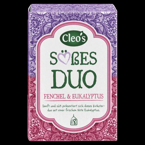 Cleo's Bio Süßes Duo Tee