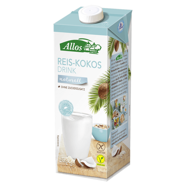 Allos Bio Reis-Kokos Drink naturell