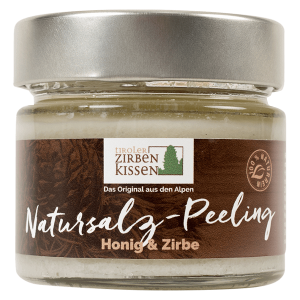 Tiroler Zirbenkissen Natursalz-Peeling Honig & Zirbe