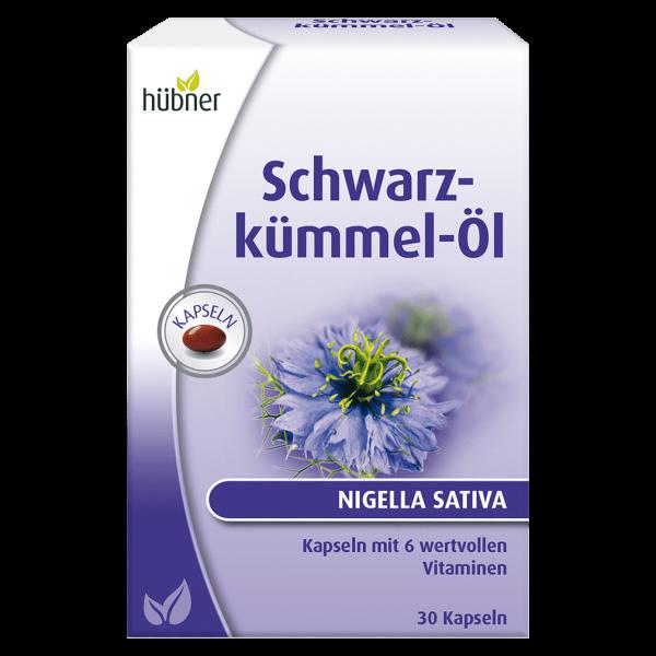 Hübner Schwarzkümmel-Öl Kapseln, 30 St