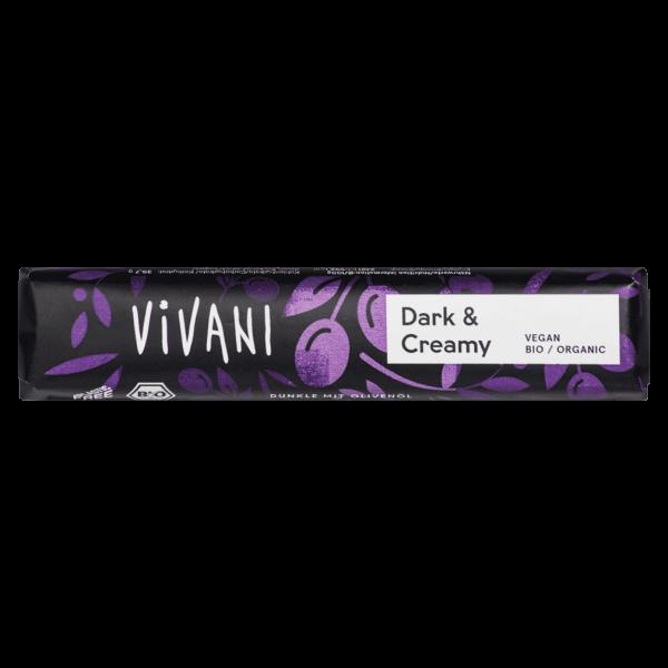 Vivani Bio Dark & Creamy Schokoriegel
