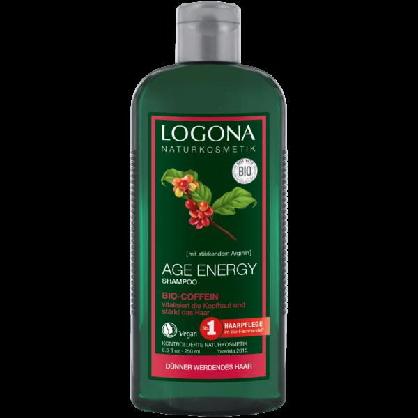 Logona Age Energy Shampoo Coffein, 250ml