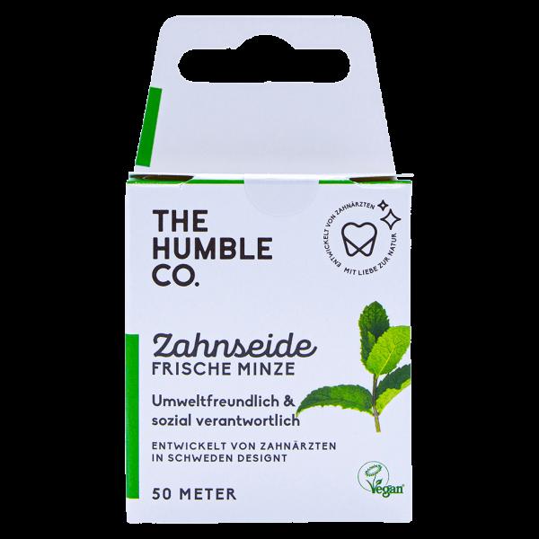 The Humble  Zahnseide Minze, 50 Meter