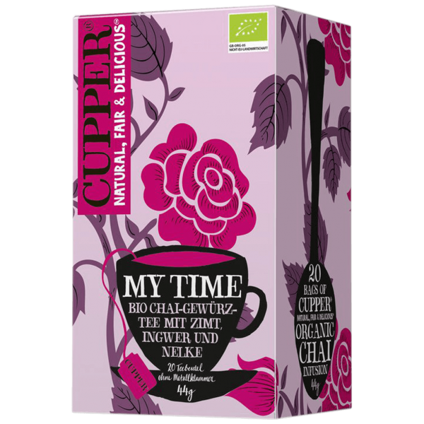 Cupper Bio My Time Chai Tee, 44g