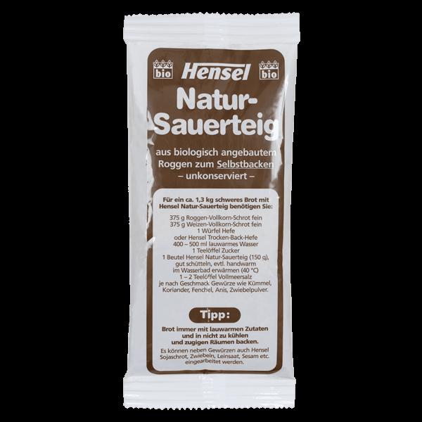 Hensel Bio Natur-Sauerteig