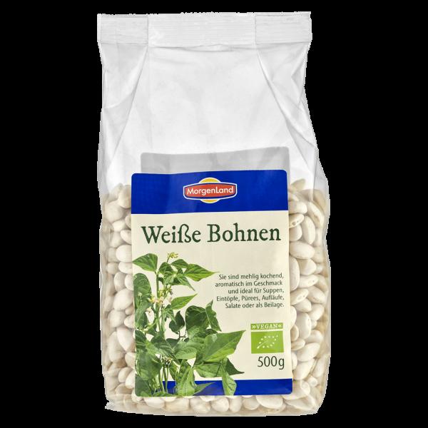 MorgenLand Bio Weiße Bohnen