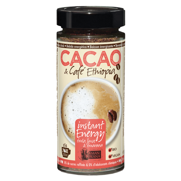 Aman Prana Bio Cacao & Café Ethiopia