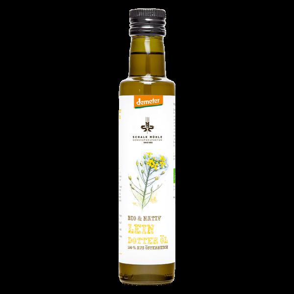 Schalk Mühle Bio Österreichisches Leindotteröl nativ, demeter, 250 ml