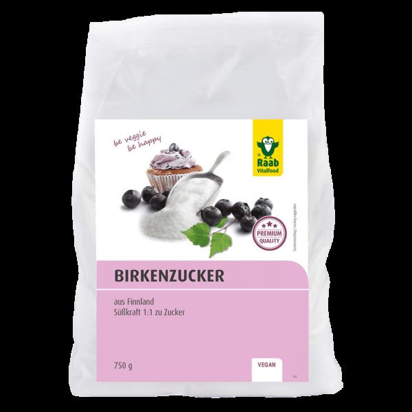 Raab Vitalfood Birkenzucker (Xylit), 750g